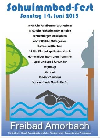 Schwimmbadfest 2015