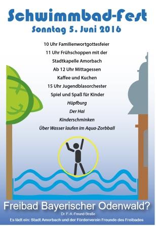 Schwimmbadfest 2016