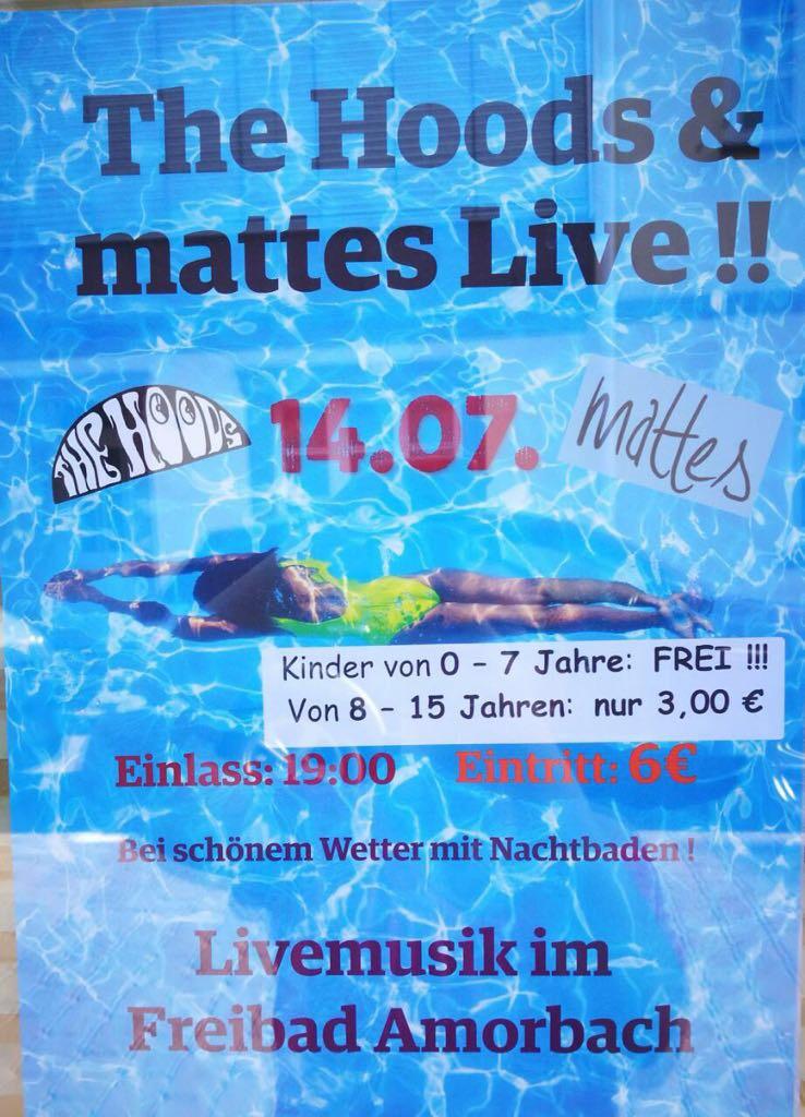 Livekonzert: The Hoods & mattes